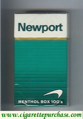 Discount Newport Menthol 100s cigarettes hard box