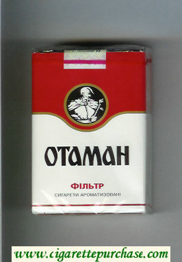 Otaman Filtr white and red cigarettes soft box
