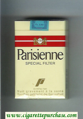 Parisienne Spesial Filter cigarettes soft box