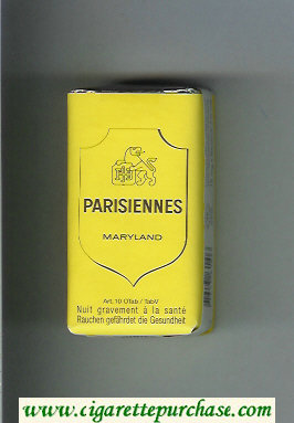 Parisiennes Maryland cigarettes soft box