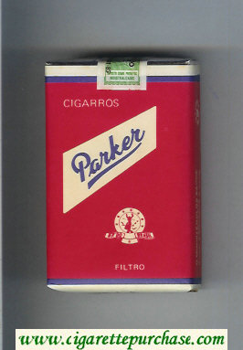 Parker Cigarros Filtro cigarettes soft box