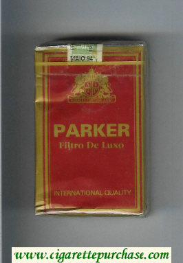 Parker Filtro De Luxo International Quality cigarettes soft box