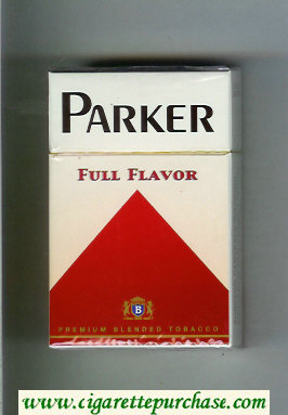Parker Full Flavor cigarettes hard box