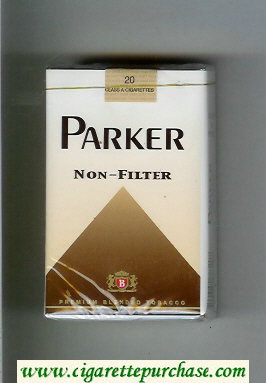 Parker Non-Filter cigarettes soft box