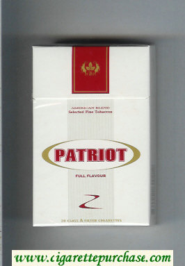 Patriot Full Flavour cigarettes hard box