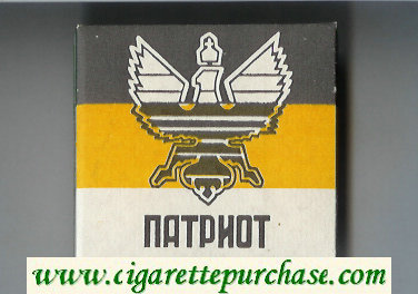 Patriot cigarettes wide flat hard box