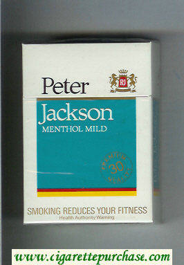 Peter Jackson Menthol Mild 30 cigarettes hard box