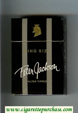 Peter Jackson Filter Tipped King Size cigarettes hard box