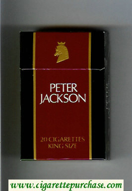Peter Jackson Filter King Size cigarettes hard box