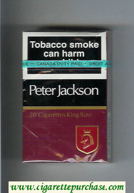 Peter Jackson Filter 20 cigarettes King Size hard box