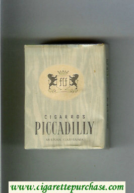 Piccadilly Cigarettes soft box