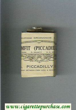 Piccadilly cigarettes hard box