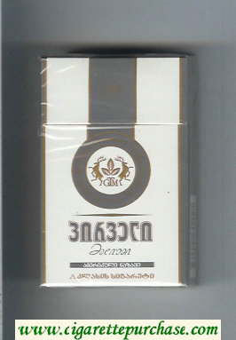 Pirveli Medium American Blend cigarettes hard box