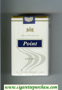 Point King Size cigarettes soft box