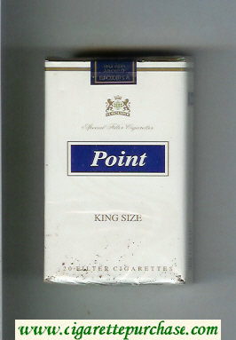 Point King Size soft box cigarettes