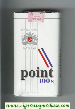 Point 100s cigarettes soft box