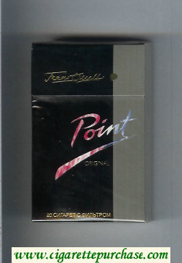 Point Original cigarettes hard box