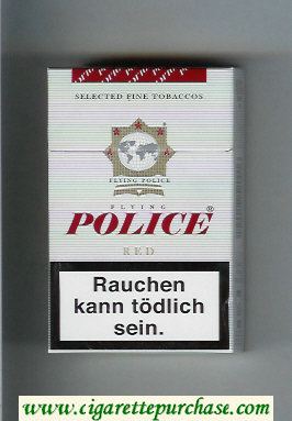 Police Flying Red cigarettes hard box