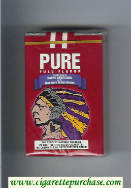 Pure Full Flavor cigarettes soft box
