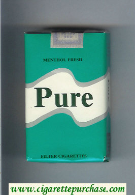 Pure Menthol Fresh cigarettes soft box