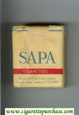 Sa Pa cigarettes soft box
