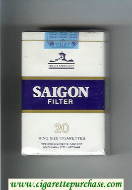Saigon cigarettes soft box