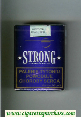 Strong blue cigarettes soft box