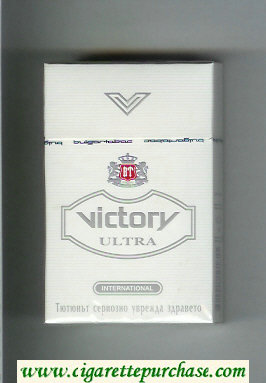 Victory Ultra International cigarettes hard box