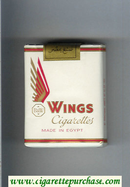 Wings BandW Cigarettes white soft box