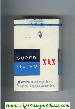 XXX Super Filtro cigarettes soft box